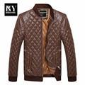 BNY 2016 Mens Clothing Spring Leather Jacket Men Men's Leather Wholesale Trade Manufacturers Black Dress Jacket