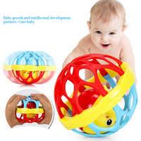 Weiche Kunststoff Baby Greifen Glocke Ball Spielzeug Rasseln Sound Pädagogisches Roll Bälle Infant Kleinkind Beißring Geschenk Für BabyToy YH-17