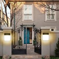 LED Wall Light Outdoor Corridor Balcony Aisle Waterproof Wall Lamp Terrace Simple Modern Garden Lamp Applique Murale Luminaire