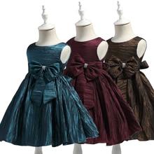 цены на Free Shipping  Princess Formal Girl Dresses Low price cheap Child Party Dress For Girls 2-8 Years Knee-Length Kids Evening Gowns  в интернет-магазинах