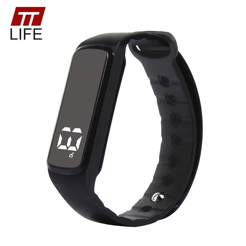 Prix pour Ttlife enfants smart watch fitness tracker 3d podomètre intelligent bracelet sommeil moniteur led smart watch avec température pour enfants