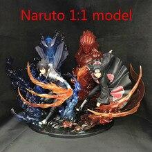 Japanese anime peripherals movie action Naruto hand props Uchiha Sasuke Uchiha Itachi Uchiha Madara Uzumaki Naruto 1:1 model