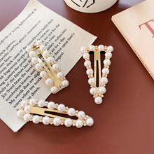Mode Strass Perle Haarnadeln Mädchen Barrettes Haarnadeln Für Frauen Geometrische Haar Clip Headwear Styling Werkzeuge Zubehör D283