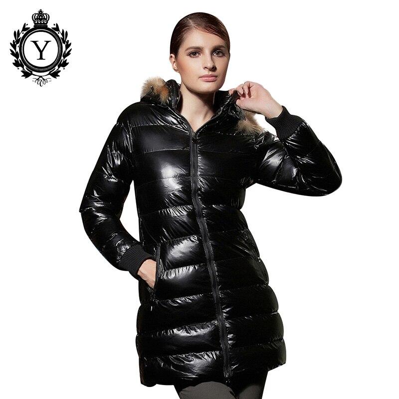 ФОТО COUTUDI New Arrival Waterproof Down Jacket Women 2016 Parka Coats With Hood Slim Solid Women Jackets Winter Zipper Long Coats