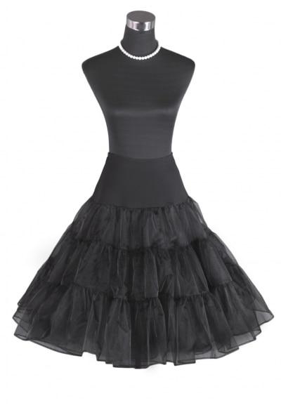 """26/"""" Rock n Roll Net Skirt 50s Vintage Petticoat Retro Underskirt Fancy Tutu S-XL"""