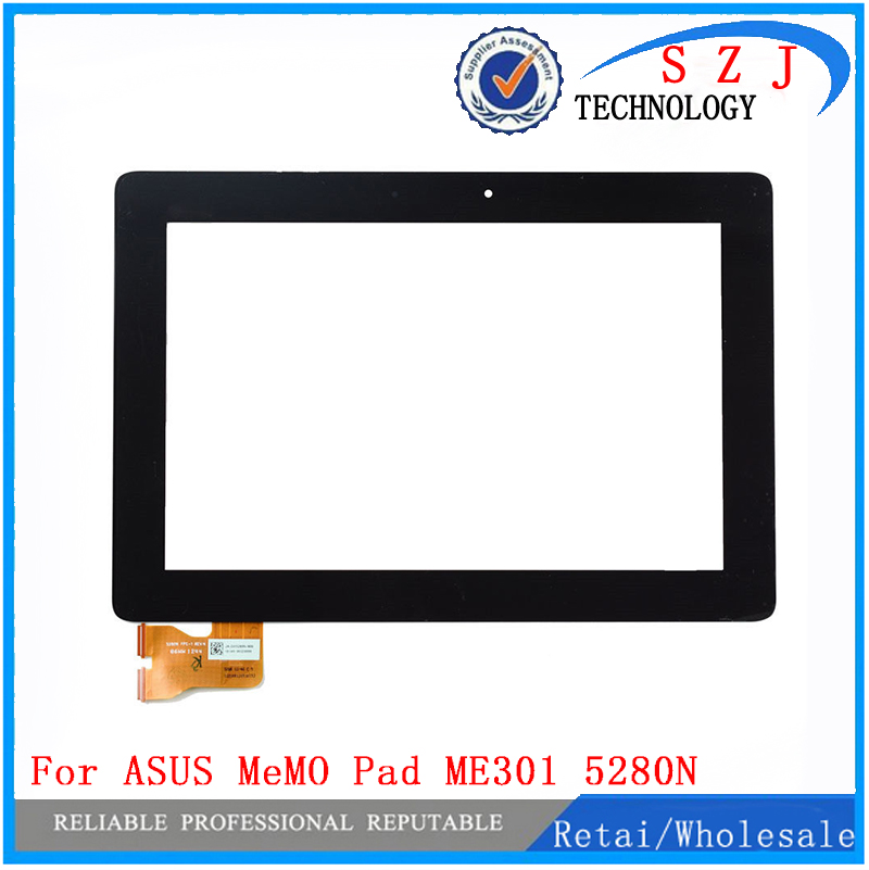 New 10.1'' inch Touch Screen Panel Digitizer For ASUS MeMO Pad FHD 10 Version K001 ME301 5280N FPC-1 Dedicated free shipping used parts lcd display glass panel touch screen digitizer assembly frame for asus memo pad smart 10 me301 me301t k001 5280n 8v