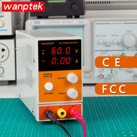 DC power wanptek supply adjustable Mini dc power supply 0 60V 0 5A Digital Voltage Regulator laboratory power Voltage Regulator