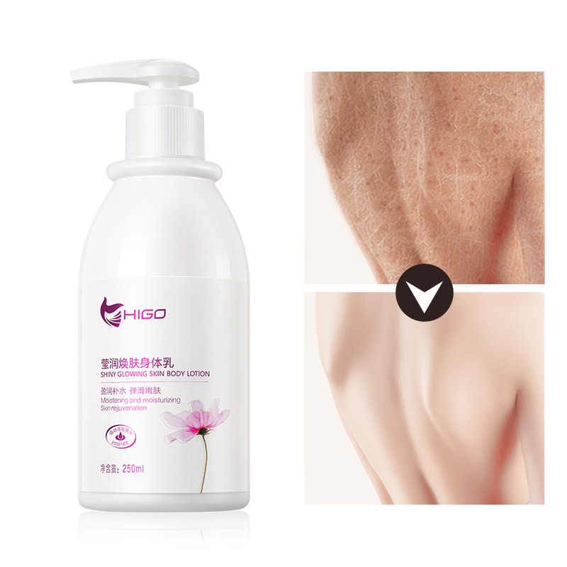 Whitening Bleaching Body Cream Skin body lotion Moisturizing Deep Carrot Whitening Lasting Whole Body Moisturize Dark Skin 250ml