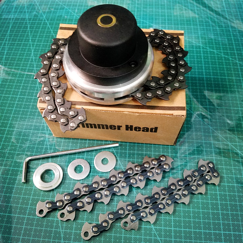 Tools Universal Trimmer Head Coil Chain Brush Cutter Garden Grass Trimmer Head Upgraded With Thickening Chain For Lawn Mower Available In Various Designs And Specifications For Your Selection