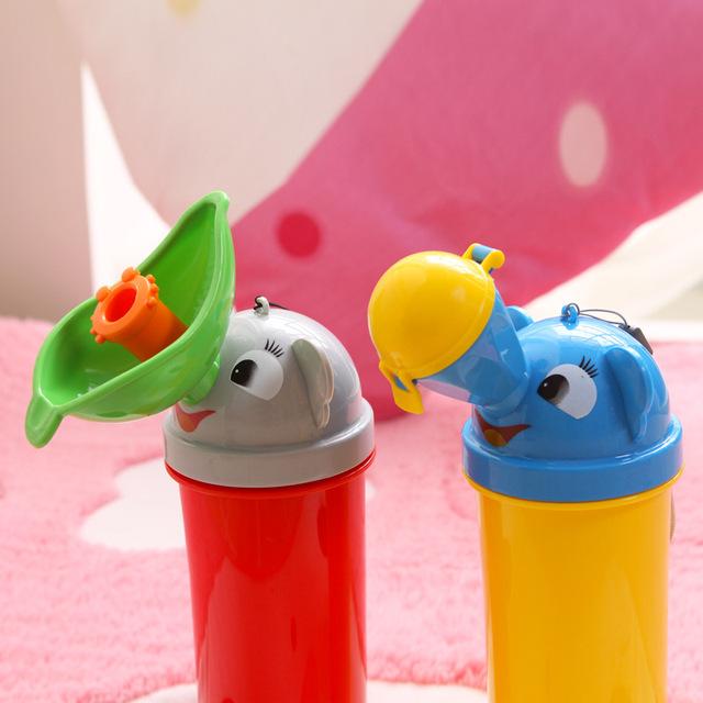 2016 Novo Design Do Bebê Potty Mictório Crianças Standing Urinal Anti Coletor de Urina À Prova de Fugas Portátil Potties Wc Frete Grátis