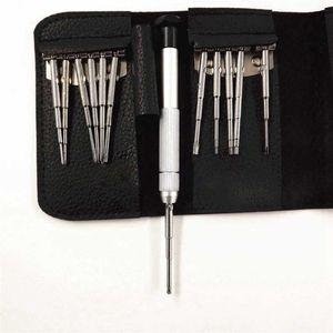 LIXF 13 в 1 Набор инструментов для ремонта Набор отверток для DJI Phantom 2 / 3 / 4 Mavic Pro, после того как они упакованы в кожаной сумке