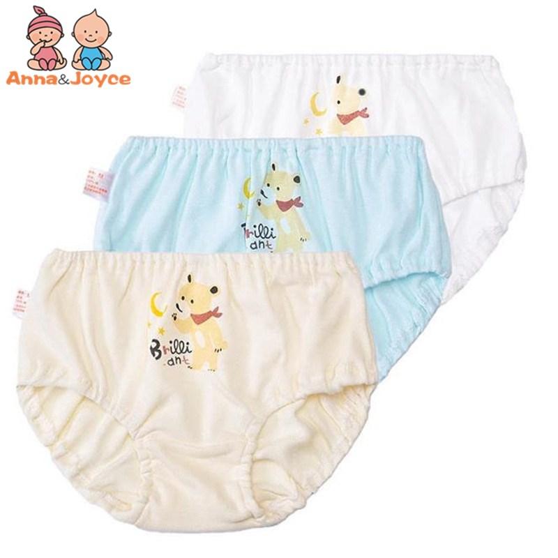 4pcs/lot Cotton Girls Underwear Kids Baby Infant Briefs Kids Under Panties Childrens Cartoon Underpants Shorts Panties Mother & Kids