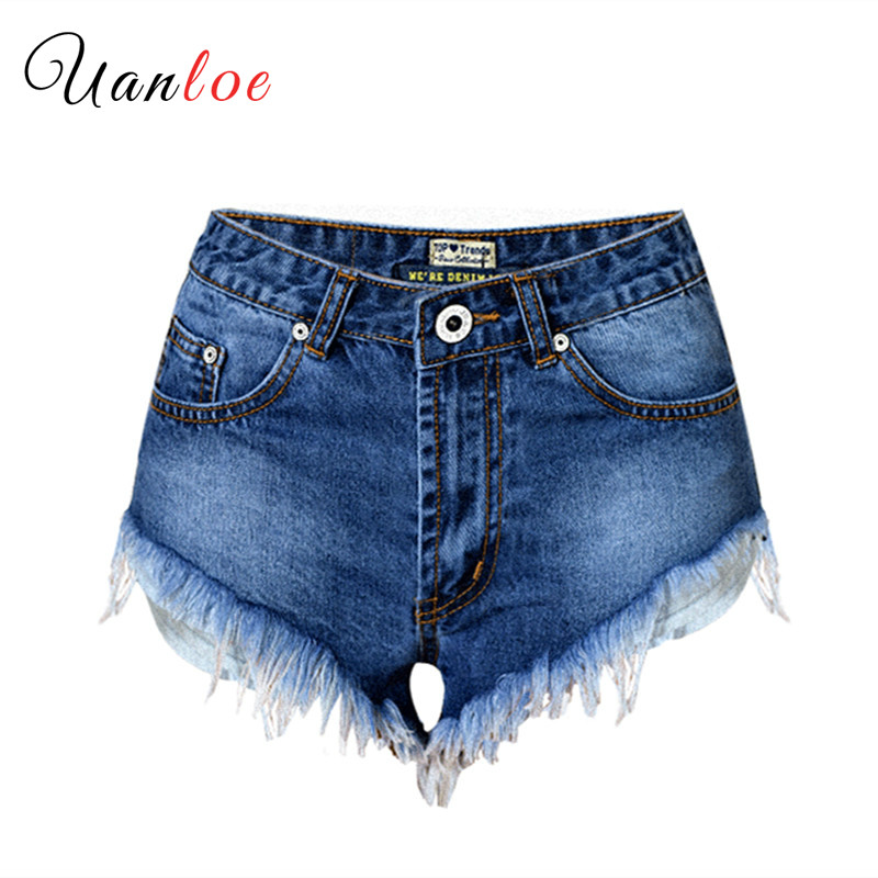 2019 Fashion Denim Shorts Women Sexy Jeans Summer Woman Tassel Mini Short Jeans Ladies