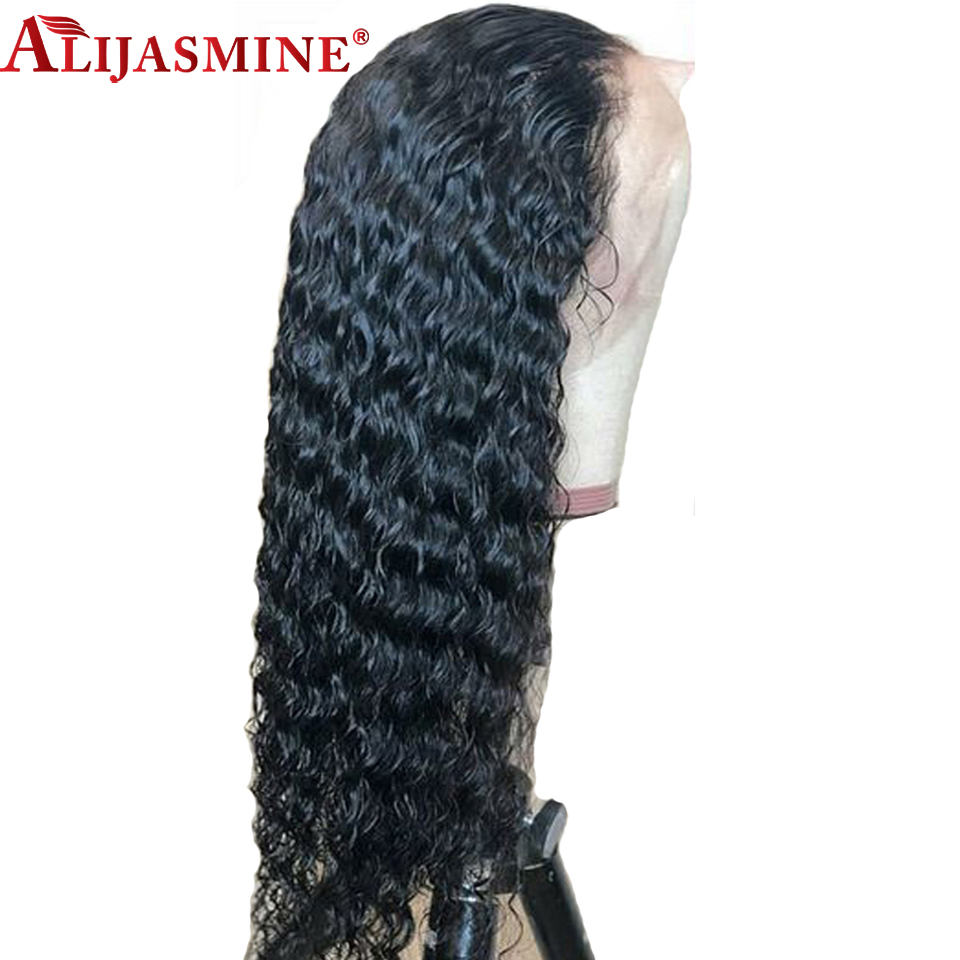 130 150 Density Curly Lace Front Human Hair Wigs Pre Plucked With Baby Hair Lace Front