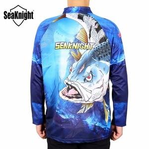 Image 3 - Seaknight Vissen Kleding SK004 Lange Mouwen L Xl Xxl Xxxl Xxxxl Zomer Sneldrogende Ademend Anti Uv Zon Bescherming T shirt