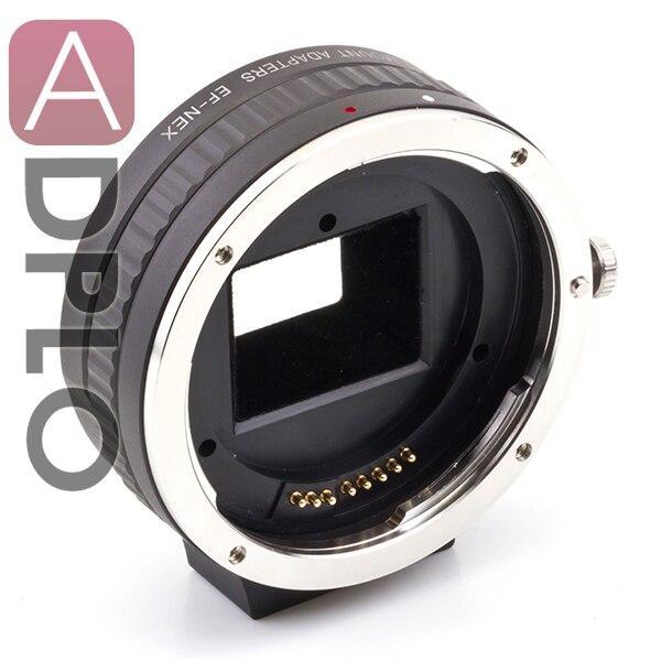 Pixco Электронный Автоматический Focus AF Подтверждение Адаптер Для Canon EF Горе объектив Sony E Крепление NEX Камеры A5100 A6000 A5000 A3000 NEX-5