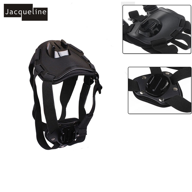 Juego de accesorios de aire ionizado Jacqueline para perros, Kit de montaje para Sony Action Cam HDR AS30V AS100V AS20 AS200V AS50 AZ1 Mini FDR-X1000V