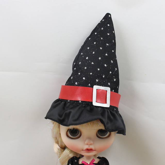 Neo Blythe Doll Halloween Dress With Hat & Stocking