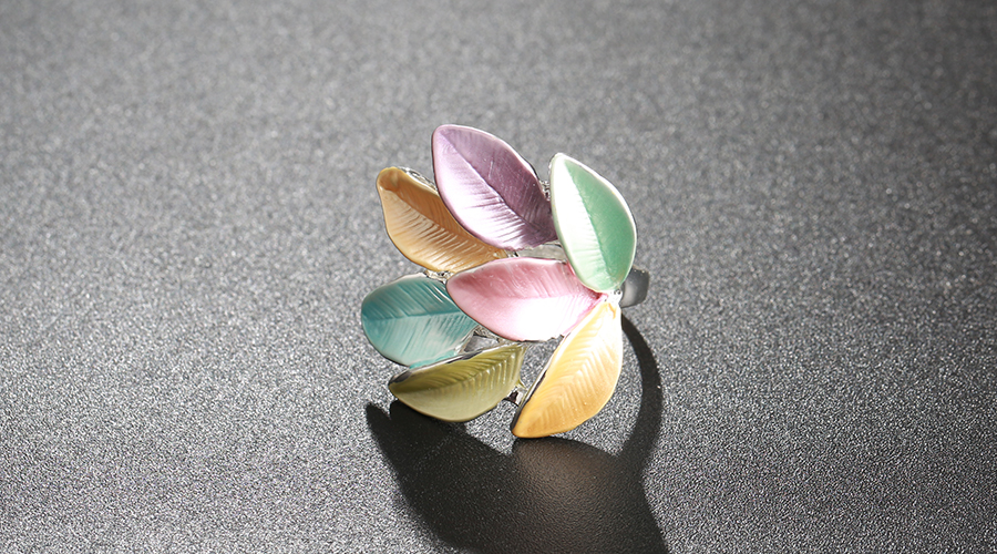 2019 New jewellery Trendy Enamel Rings For Women in gulf