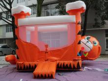 5X4M High Quality Inflatable Bouncer, Inflatable Tiger Jumping House