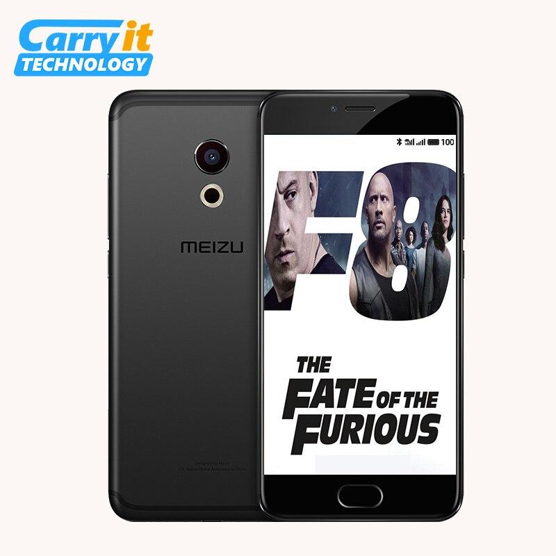 """Цена за Оригинальный Meizu Pro 6S  64 ГБ 4 ГБ Мобильный телефон Android Helio X25 Дека Core 5.2 """"1080 P 12.0 МП Камеры Сотового Телефона 4 Г LTE M570Q S"""