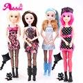 Abbie 1 unid belleza muñeca de la muchacha muñecas de moda año nuevo navidad regalo para la muchacha del cuerpo conjunto diy bjd toys envío libre 11.11 promoción