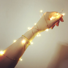LED Christmas Lights 5M LED Copper Wire String Fairy Lights for Festival Wedding Party Home Decoration Lamp Holiday Lights
