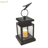 Solar Power Candle Light Outdoor Garden Yard Umbrella Tree Lantern Hanging Solar Lamp U70227