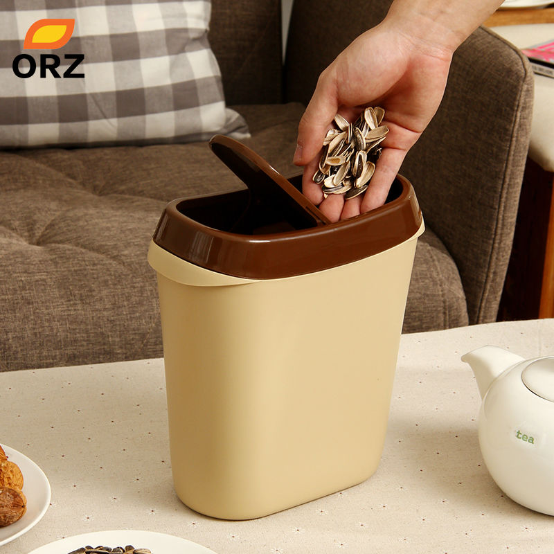 Aliexpress.com : Buy Rolling Cover Type Waste Bin Car Trash Can Table  Kitchen Office Home DustBin Rubbish Trash Bin Garbage Holder From Reliable Bin  Bin ...
