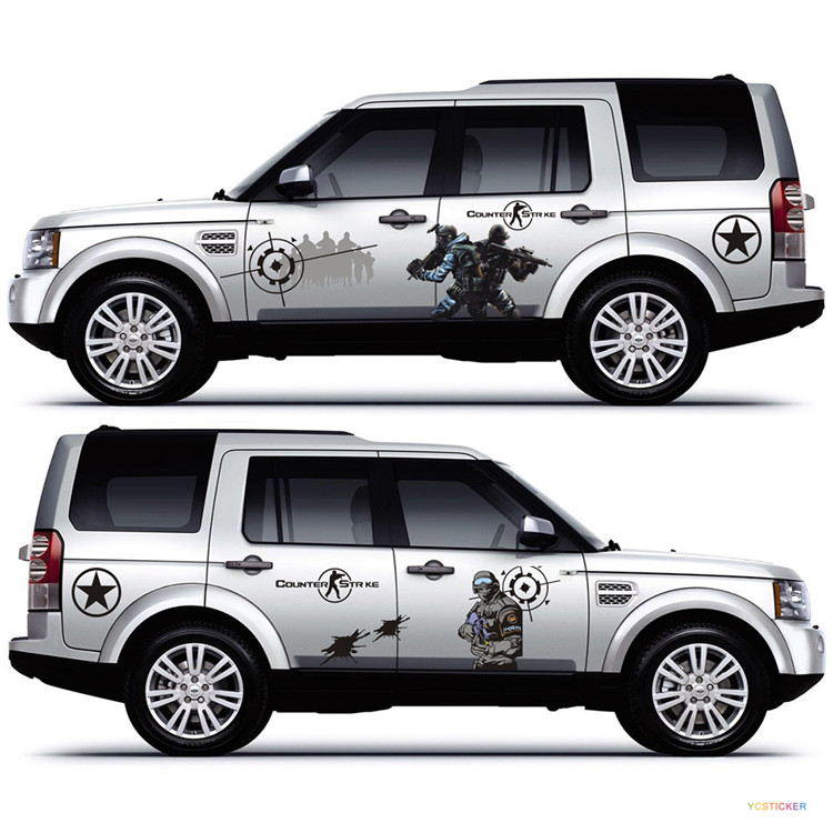 Auto Custom Graphics PromotionShop For Promotional Auto Custom - Promotional custom vinyl stickers for cars