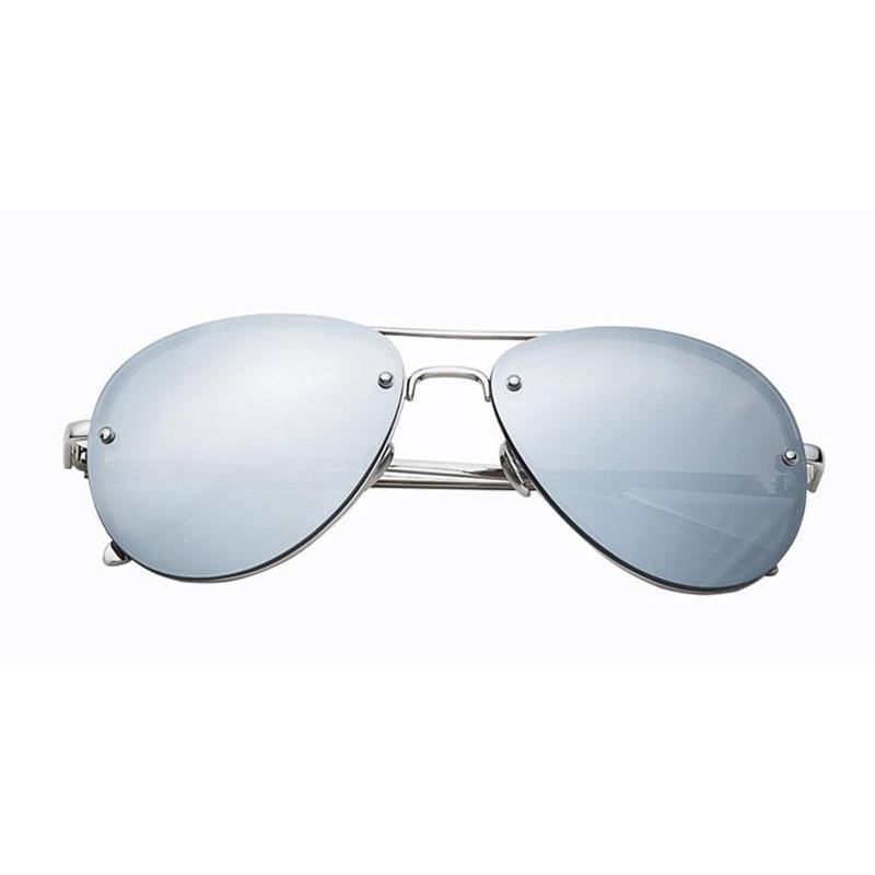 Oushiun Italia diseño de moda hombres Mujeres Ronda de Doble Haz gafas de  Sol Hombres lente Transparente Gafas Vintage UV400 HD contra la radiación  en Gafas ... e7b81aaa7775