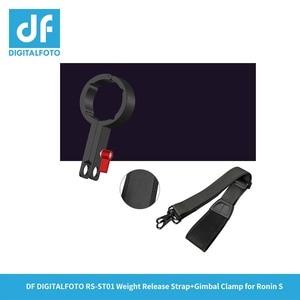 Image 4 - RS ST01 Appendere fibbia a mano cinghia di spalla Imbracatura della cinghia Fibbia a sgancio per DJI RONIN S 3 Assi del Giunto Cardanico/stabilizzatore accessori