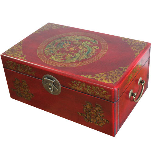 Delicieux Brown Wood Treasure Chest Boxes,large Woman Antique Leather Storage Box,traditional  Chinese Home