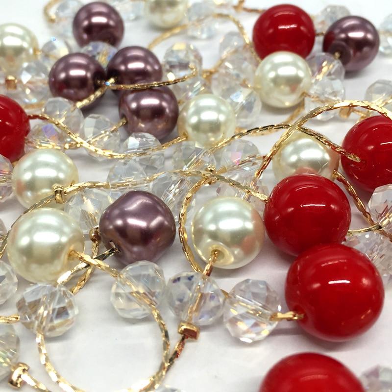 575b258ea9f4 Cnaniya merk sieraden vrouwen kristal kraal dubbellaags abs parel ketting  lange collier de perle kraag perlas bijuteria bisuteria in Cnaniya merk  sieraden ...