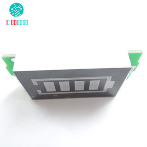 Image 4 - 3S 3 celular Indicador de capacidad de batería de litio para 12,6 V pantalla azul eléctrico vehículo eBike batería medidor de corriente Li po Li ion