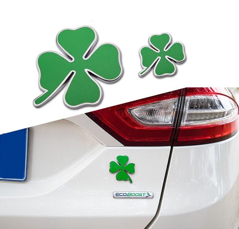Alfa Romeo Green Cloverleaf 3D Sticker