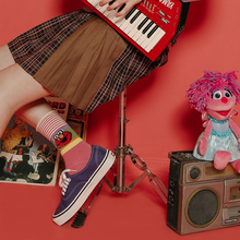 Funny happy cotton socks fashion personality illustration tide socks cute cartoon girl stereo eyes street trend couple socks