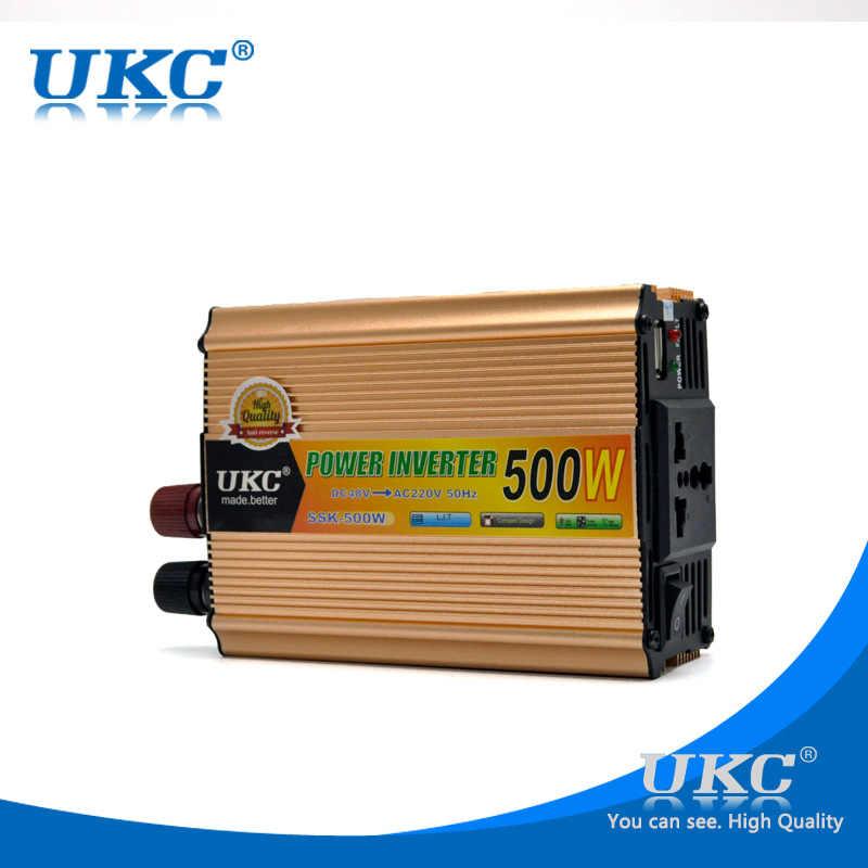100% Оригинальный Инвертор 48В 220В 500 Вт, универсальный автомобильный инвертор, модифицированный синусоидальный инвертор, бесплатная доставка