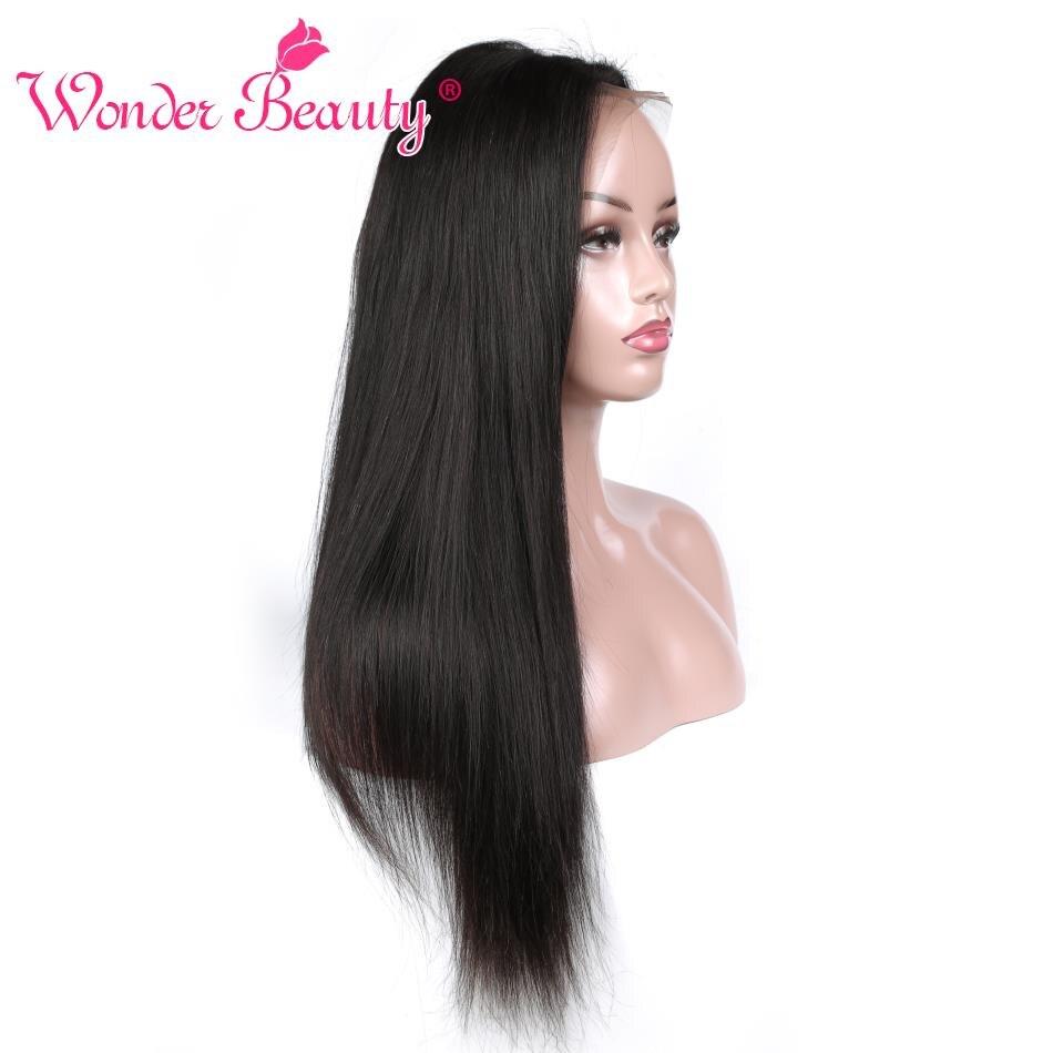 Pre Plucked Full Lace Human Hair Wigs Brazilian Straight Human Hair Wigs For Women Wonder Beauty