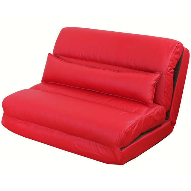 Macao Small Apartment Leather Sofa Bed