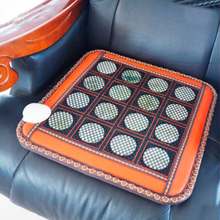 Hot Sale Natural Korea Tourmaline Mat Infrared Heating Physical Therapy Mat Office Chair Heat Pad Size 50X50CM For Sale