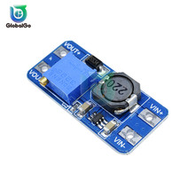 MT3608 dc-dc повышающий преобразователь усилитель питания модуль Boost повышающая плата Макс выход 28 V 2A для Arduino