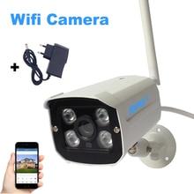 Беспроводной IP Камера Wi-Fi 1080 P 960 P 720 P видеонаблюдения Камера Водонепроницаемый ИК ночного видения видеонаблюдения Камера 4 Массив ИК-светодиодов P2P
