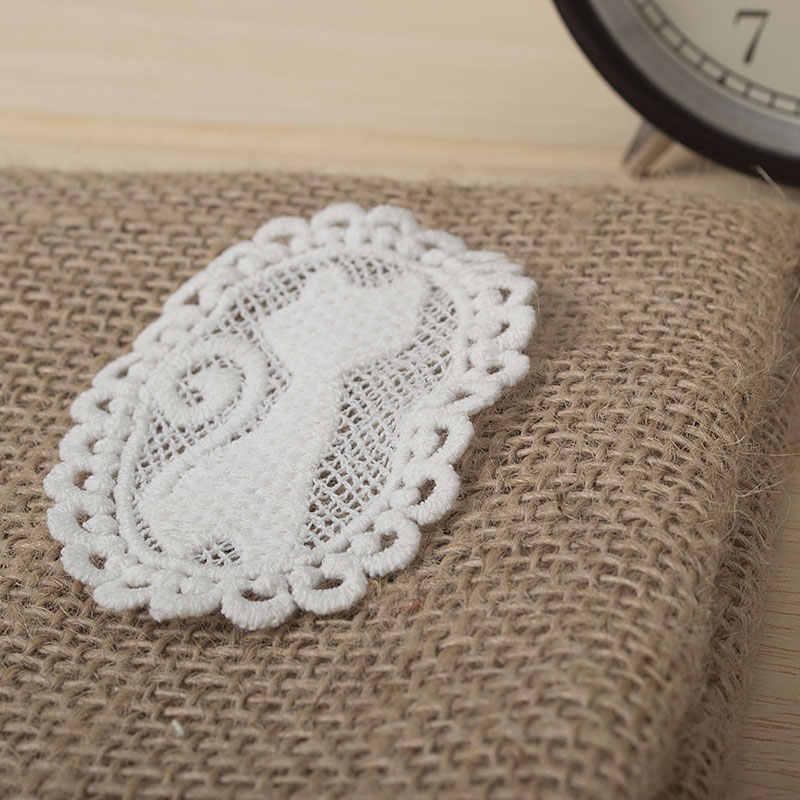 عالية الجودة هريرة القطن برعم الحرير وسم الدانتيل بروش التصحيح DIY الاكسسوارات اليدوية