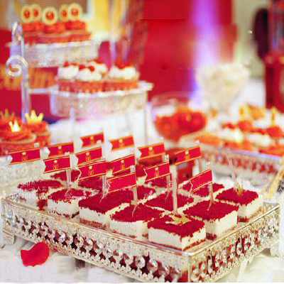 Kingart Size Wedding Cake Serving Tray Dessert And Fruit Plate For Kitchen Hotel Silver Trays In Dishes Plates From Home Garden On