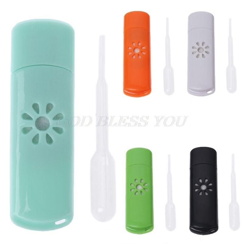 Mini USB Car Aromatherapy Diffuser Aroma Humidifier Essential Oil Fresh Home New
