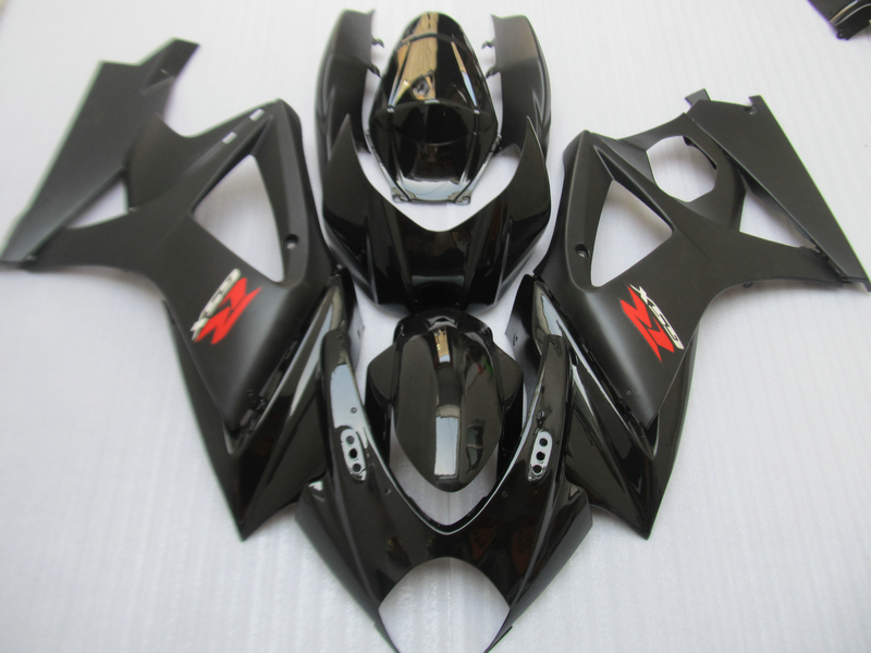 Free 7 gifts fairing kit for SUZUKI GSXR 1000 K7 K8 2007 2008 fairings 07 08 GSXR1000 all black ABS bodykits JS52 free custom fairings for 2003 2004 suzuki gsxr 1000 fairing kits 03 04 gsxr1000 k3 gsx r1000 yellow gray black white kh192