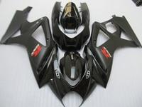 Free 7 gifts fairing kit for SUZUKI GSXR 1000 K7 K8 2007 2008 fairings 07 08 GSXR1000 all black ABS bodykits JS52