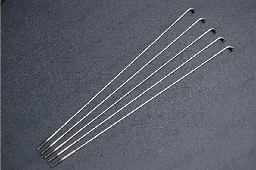 Nipples STRAIGHT PULL Sapim CX Ray Aero Bladed Spokes BLACK All Sizes 210-310mm