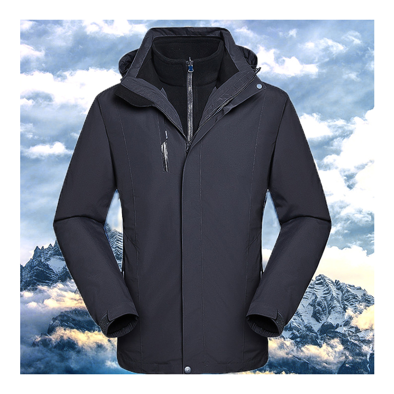 Oversized Man Winter Waterproof Fleece Travel Fish Climb Hiking Ski Trek Outdoor Hood Jackets Male Warm